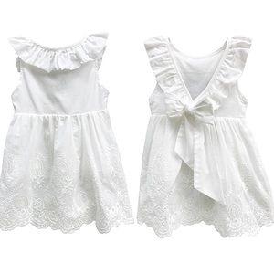 Other - 100% Cotton Purfle Backless  Tutu Princess Dress